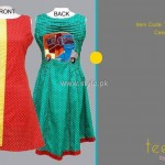 Teena by Hina Butt 2012 New Casual Wear Dresses 013