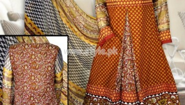 VS Textiles Latest Eid Lawn Dresses 2012 002