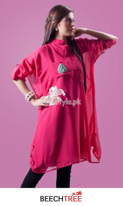 Beech Tree Latest Party Wear Dresses For Eid Ul Fitr 2012 003 for women local brands