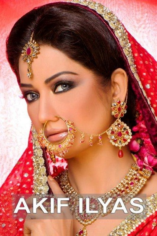 Bridal Shoot By Akif Ilyas Beauty Salon and Photography Studio 001