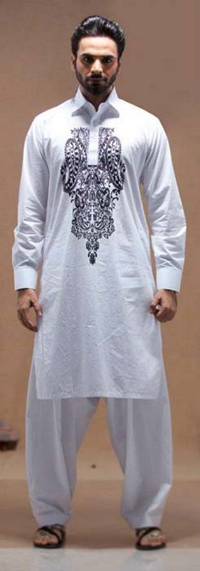 Deepak And Fahad Eid Kurta Collection 2012 For Men 003