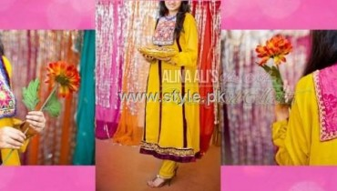 Glitz N Glam Eid Collection 2012 for Women by Alina Ali