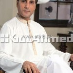 Gul Ahmed Eid Kurta Collection 2012 for Men 002