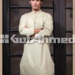 Gul Ahmed Eid Kurta Collection 2012 for Men 005