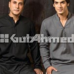 Gul Ahmed Eid Kurta Collection 2012 for Men 009