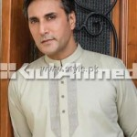 Gul Ahmed Eid Kurta Collection 2012 for Men 010