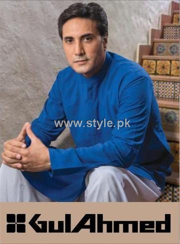 Gul Ahmed Eid Kurta Collection 2012 for Men 012 mens wear 2 gul ahmed designer