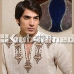 Gul Ahmed Eid Kurta Collection 2012 for Men 014