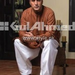 Gul Ahmed Eid Kurta Collection 2012 for Men 015