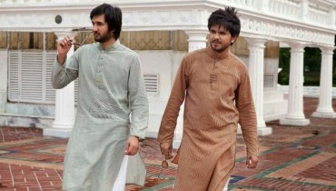 Haroons Designer Eid Kurta Collection 2012 For Men 001