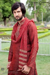 Haroons Designer Eid Kurta Collection 2012 For Men 004 200x300 mens wear 2