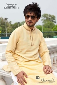 Haroons Designer Eid Kurta Collection 2012 For Men 006 199x300 mens wear 2