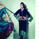 Nda Azwer Latest Eid Dresses 2012 Eastern Collection 005