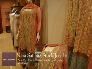 Sana Safinaz Pret Collection 2012 At Melange 001 300x225 for women local brands brands