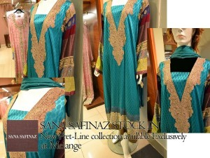 Sana Safinaz Pret Collection 2012 At Melange 002 300x225 for women local brands brands