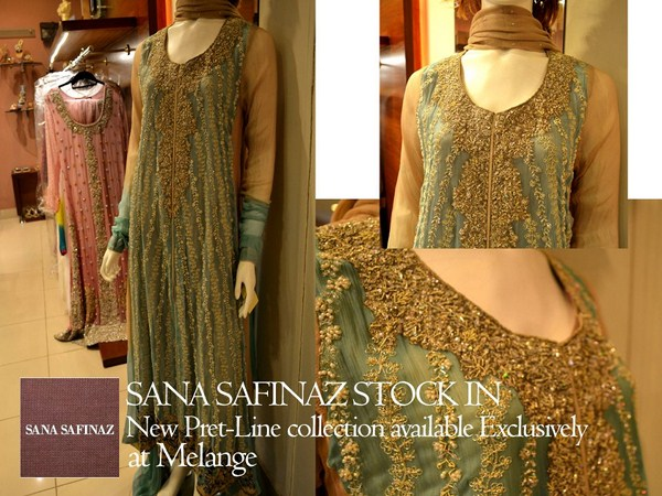 Sana Safinaz Pret Collection 2012 At Melange 003