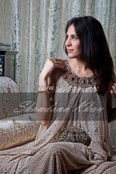 Shandana Khan Formal Wear Collection 2012 for Women