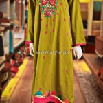 Thredz 2012 Eid Dresses for Women and Girls 003