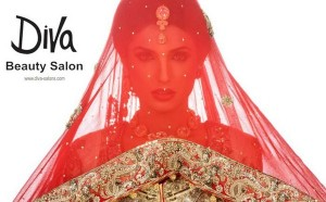 Amina ilyas bridal make up by diva beauty salon for Adiva beauty salon