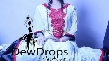 Dewdrops Couture New Collection 2012 by Parkha Khan