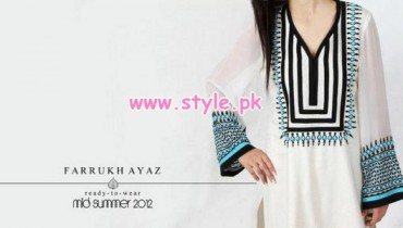 Farrukh Ayaz Latest Ready To Wear Dresses 2012 012