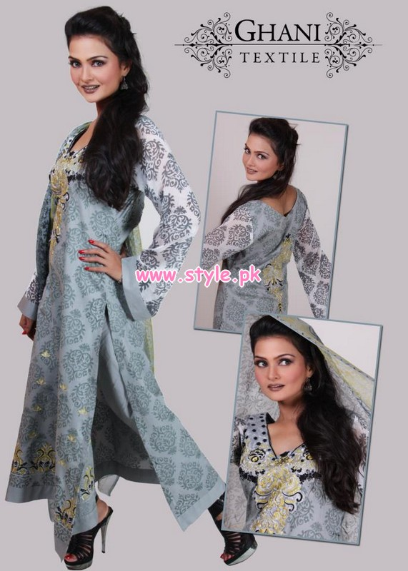 Ghani Textiles Latest Summer Collection For Women 2012 006 for women local brands