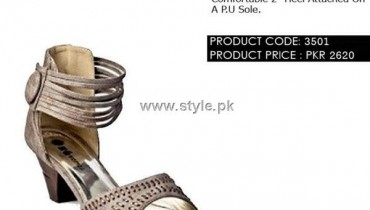 Gul Ahmed Designer Footwear 2012 for Ladies