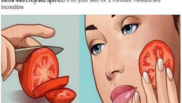 Homemade Tomato Facial Masks