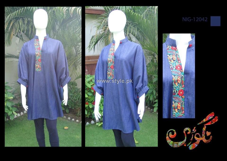 Nigoree Casual Wears 2012 Collection for Ladies 012