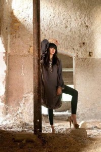 Teena By Hina Butt Silk Kurta Collection 2012 For Women 001 199x300 for women local brands brands