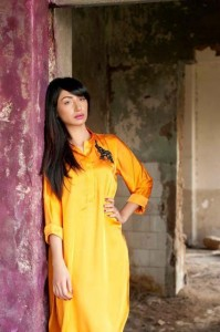 Teena By Hina Butt Silk Kurta Collection 2012 For Women 002 199x300 for women local brands brands