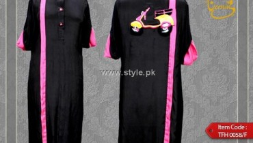 Teena by Hina Butt New Kurta Collection 2012 for Women