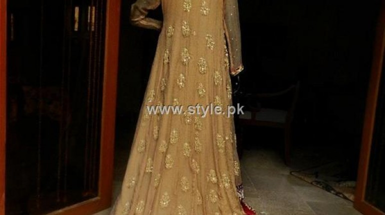 Xenab's Atelier Latest Bridal Wear Collection 2012