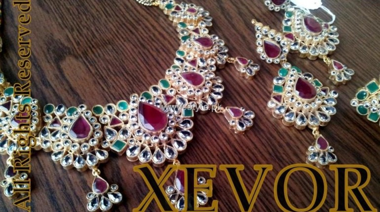 Xevor Bridal Jewellery Sets 2012 for Ladies