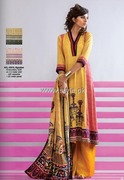 Al Karam Winter 2012 Dresses for Women