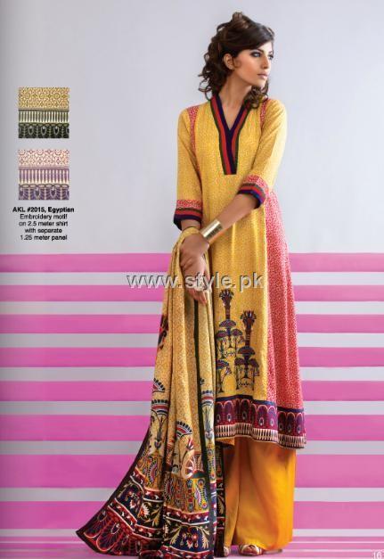 Al Karam Winter 2012 Dresses for Women