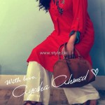Ayesha Ahmed Casual Dresses 2012 for Women 006