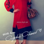 Ayesha Ahmed Casual Dresses 2012 for Women 007