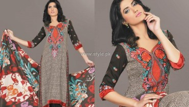 Charizma Embroidered Winter Collection 2012 for Women 001