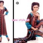 Eiza by UA Textile Latest Linen Collection 2012 004