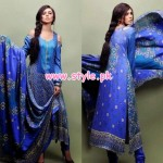 Eiza by UA Textile Winter 2012 Latest Collection 007