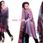 Eiza by UA Textile Winter 2012 Latest Collection 010