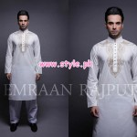 Emraan Rajput Latest Kurta Shalwar For Men 2012 004