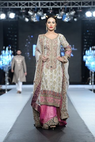 eafa6b2d93 Fahad Hussayn Collection 2012 At PFDC L'Oreal Paris Bridal Week 2012