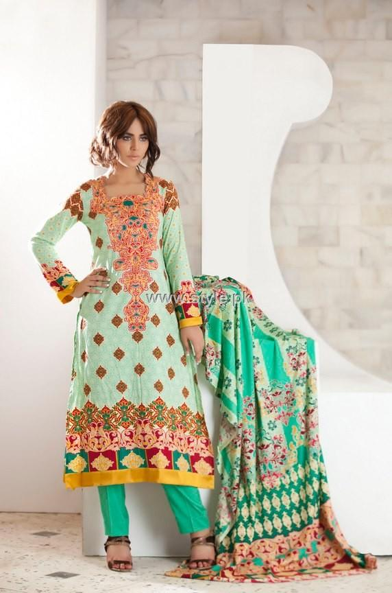 Firdous Cloth Mills Winter 2012 New Dresses for Women