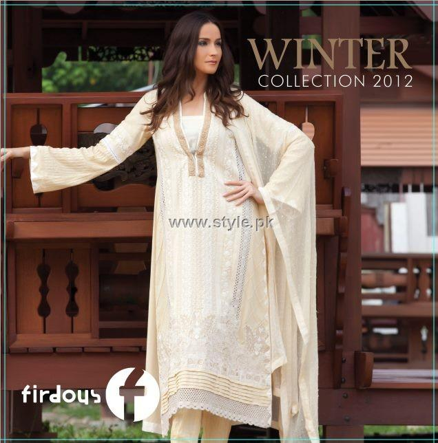 Firdous Winter Collection 2012 for Women 001 pakistani dresses fashion brands