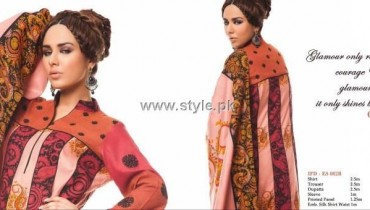 Ittehad Embroidered Winter Dresses 2012-13 for Women