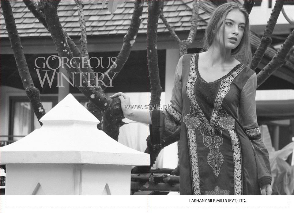 Lakhani Winter Collection 2012-13 Volume 2 by LSM Fabrics