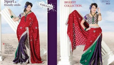 Latest Lehenga Saree Trends 2012 For Women 001