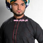 Latest Satrangi By Saqib Menswear Collection 2012 013